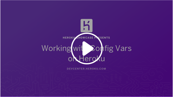 Play Config Vars on Heroku